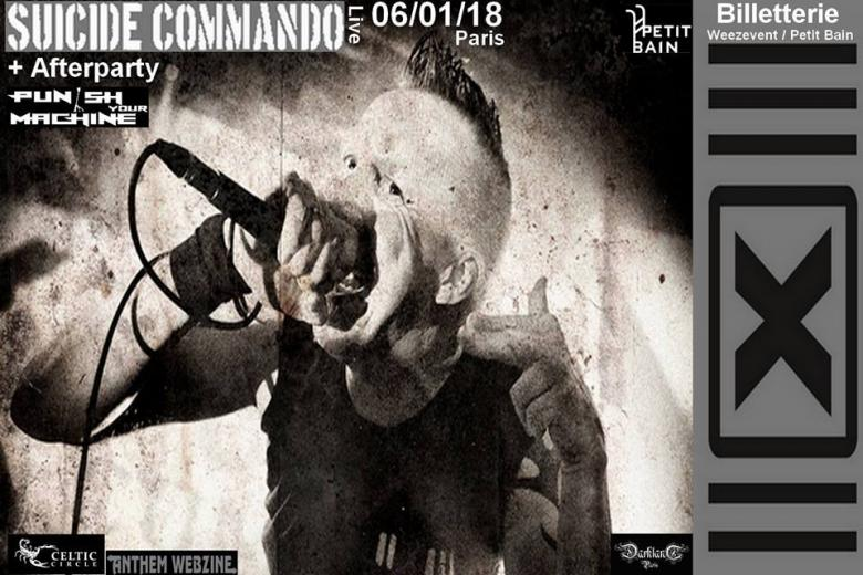 SUICIDE COMMANDO à Paris