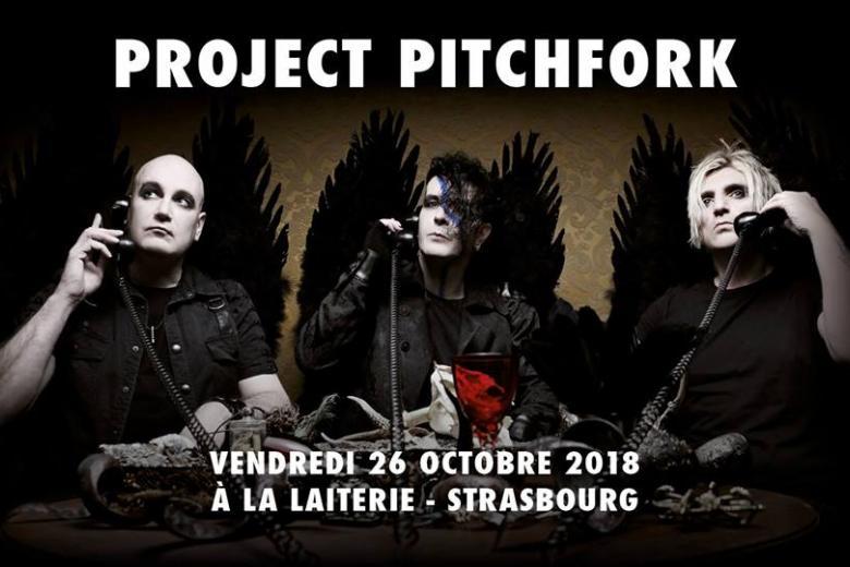 PROJECT PITCHFORK à Strasbourg le 26 octobre 2018