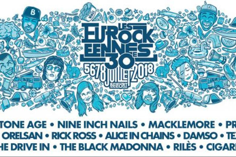 NINE INCH NAILS, ALICE IN CHAINS ou encore PROPHETS OF RAGE seront aux Eurocks