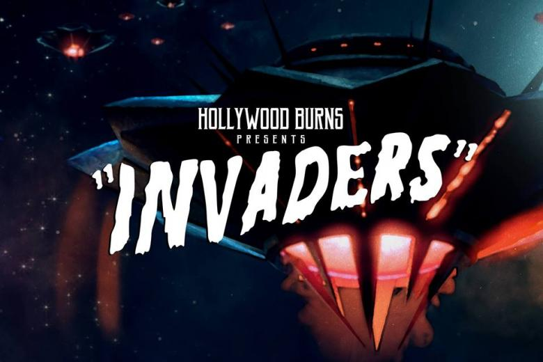 Le premier album de HOLLYWOOD BURNS arrive : darksynth et OVNI en approche