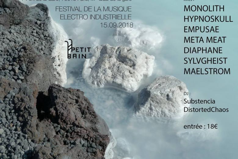 Un festival de musiques industrielles à Paris en septembre