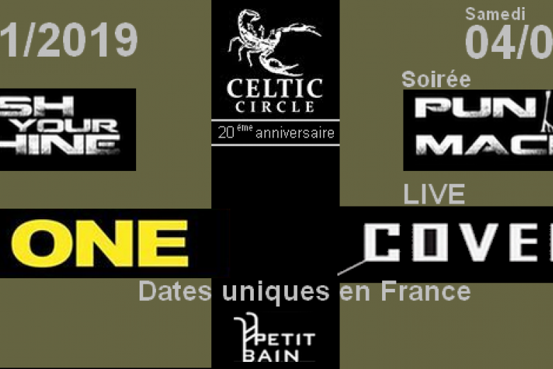 Celtic Circle : 20 ans / 2 concerts - AND ONE & COVENANT