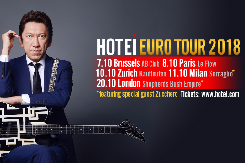 HOTEI en tournée en Europe