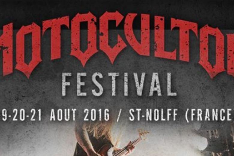 L'affiche du MOTOCULTOR festival 2016 s'étoffe !