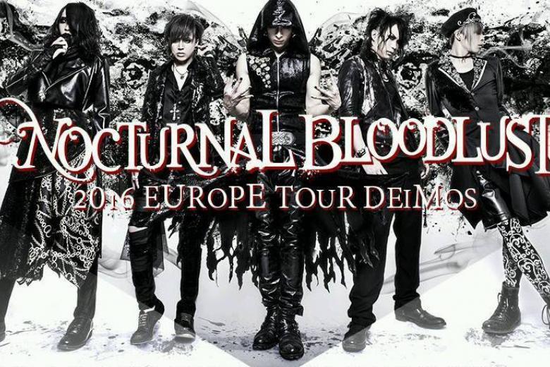 Nocturnal Bloodlust visite pour la 1ère fois l'Europe et Paris
