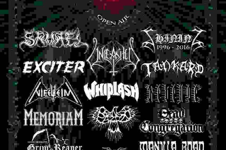 Tankard, Whiplash & Memoriam : Fall of Summer Festival