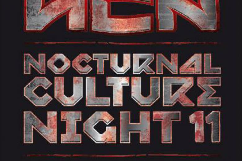 Nocturnal Culture Night 2016 : Running Order