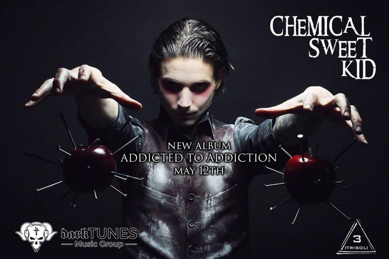 Le nouvel album de CHEMICAL SWEET KID sortira le 12 mai