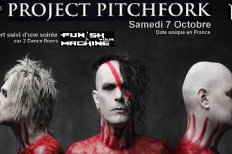 PROJECT PITCHFORK en concert à Paris le 7 octobre