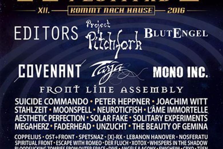 Amphi Festival 2016 :  Et les groupes complémentaires sont...