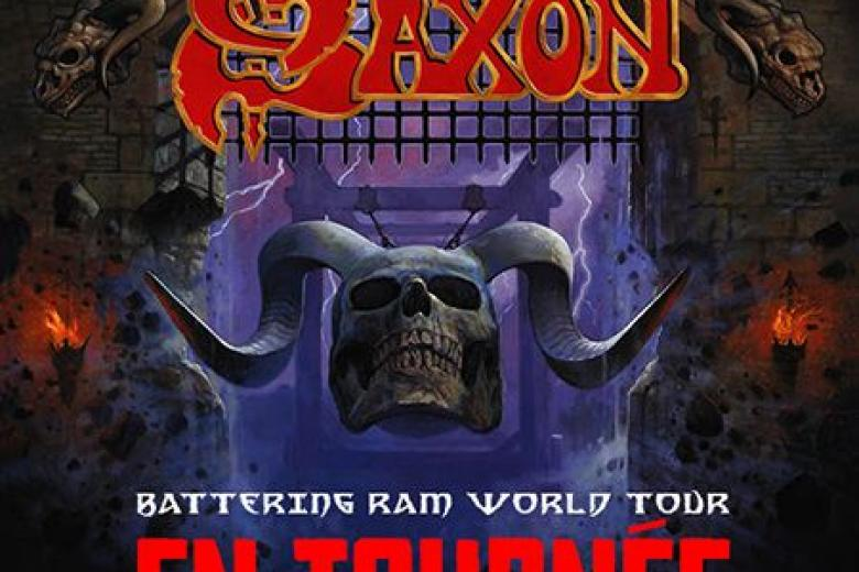 Saxon sera en tournée du 16 novembre au 21 décembre 2016.