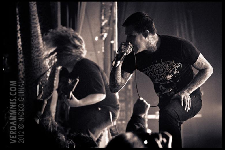 Carnifex @ Bonecrusher Festival - Paris (2012-02-17)