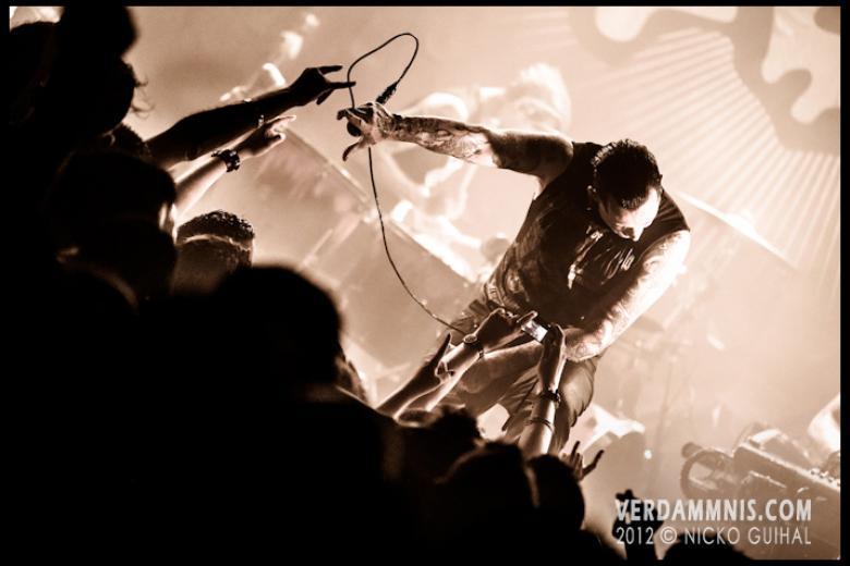 Combichrist @ Divan du Monde - Paris (2012-07-04)