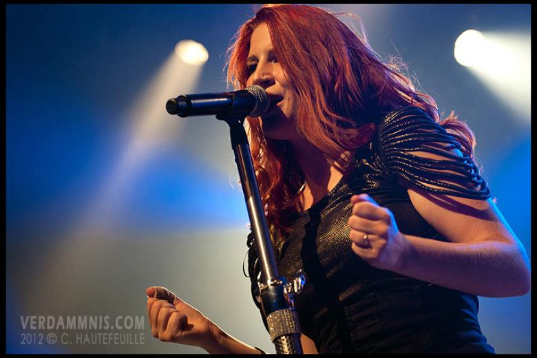 Delain @ Rock-School Barbey - Bordeaux (2012-10-14)