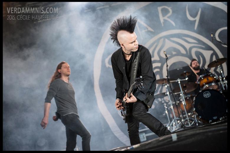 Diary Of Dreams @ Eurorock Festival - Neerpelt (2015-05-15)