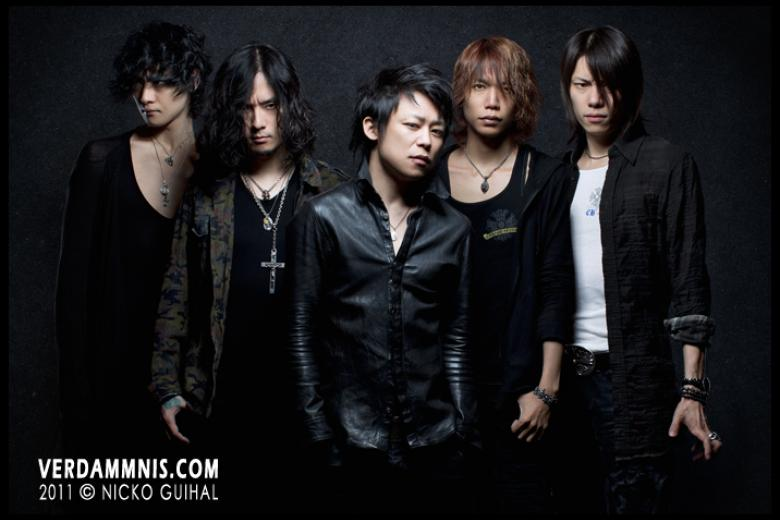 DIR EN GREY @ Shooting - Paris (2011-08-10)