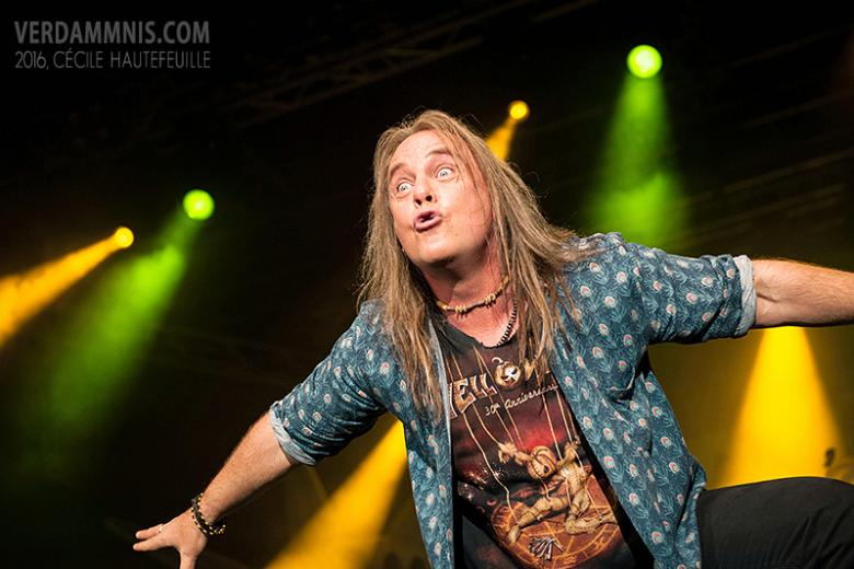 Helloween + Crimes of Passion + Rage @ Turbinenhalle - Oberhausen (06 février 2016)