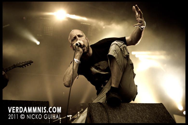 Meshuggah @ Hellfest - Clisson (2011-06-17)