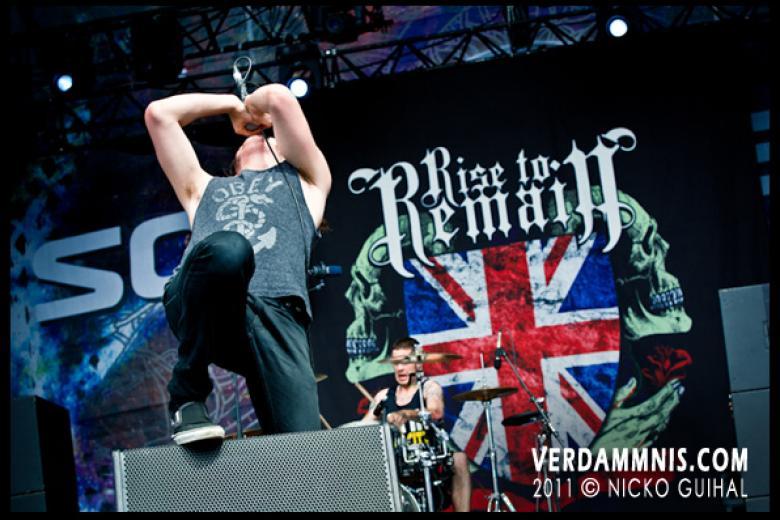 Rise To Remain @ Sonisphere Festival - Amnéville (2011-07-08)