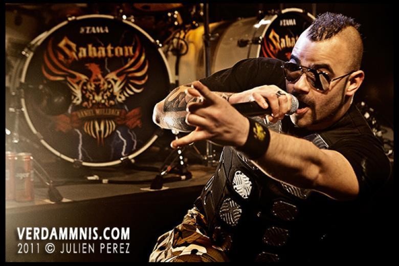 Sabaton @ Trabendo - Paris (2011-03-05)