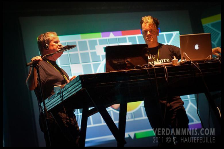 Severed Heads @ BIMFest 2011 - Antwerp (2011-12-16)