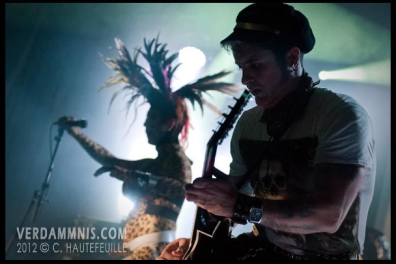 Sigue Sigue Sputnik @ Rewind Festival - Ghent (2012-04-07)