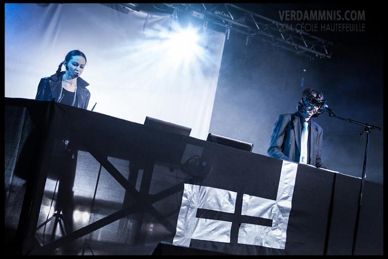 The Force Dimension @ BIM Festival 2014 - Antwerp (2014-12-20)