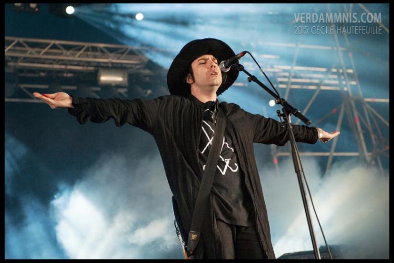 Whispers In The Shadow @ Eurorock Festival - Neerpelt (2015-05-16)