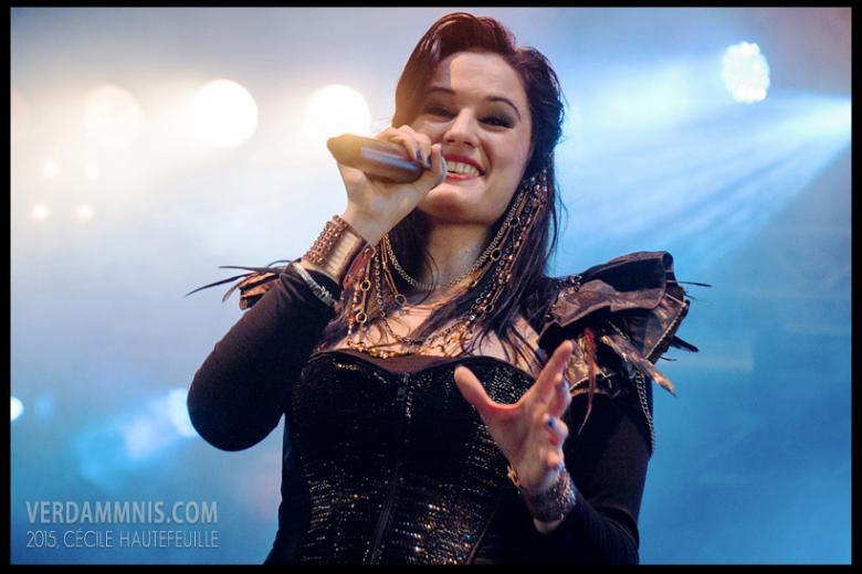Xandria @ Eurorock Festival - Neerpelt (2015-05-16)