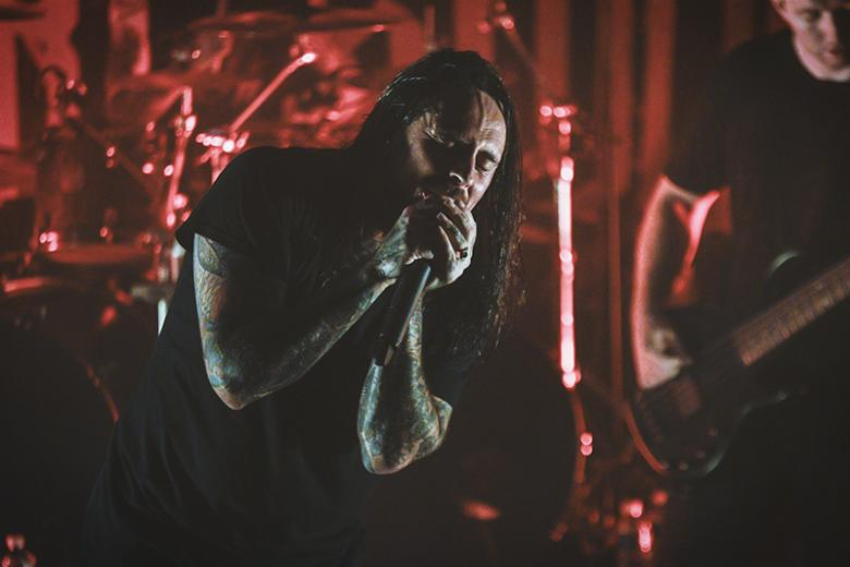 Thy Art Is Murder + After The Burial + Justice For The Damned + Oceano @ CCO Jean Pierre Lachaize - Lyon (14 octobre 2017)