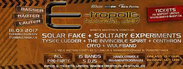 E-Tropolis Festival 2016 - E-Tropolis Festival(05 mars 2016)