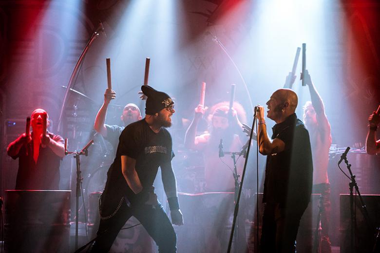 Les Tambours du Bronx + Acyl @ La Machine du Moulin Rouge - Paris (20 mars 2018)