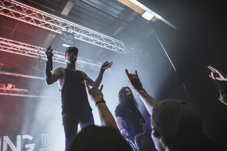 Betraying The Martyrs + From Sorrow To Serenity + Modern Day Babylon + Resolve @ Mjc Ô Totem - Rillieux (24 mars 2018)