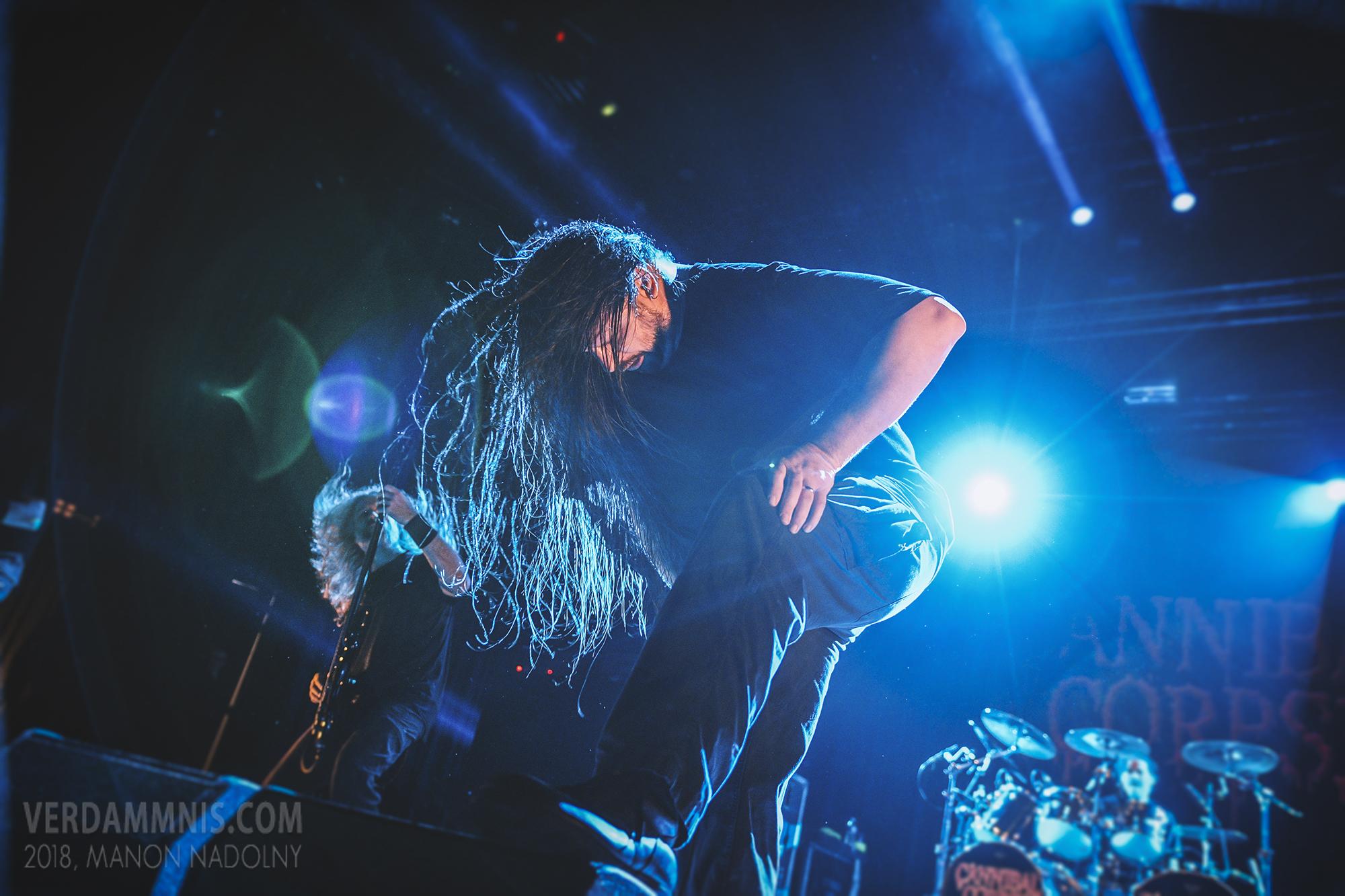 Cannibal Corpse - La Belle Electrique(01 mars 2018)