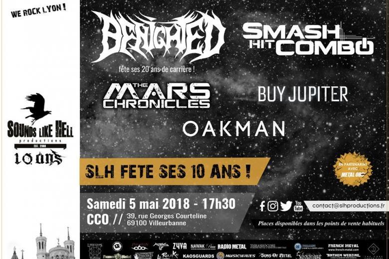 10 ans de Sounds Like Hell @ CCO Jean Pierre Lachaize - Lyon (05 mai 2018)
