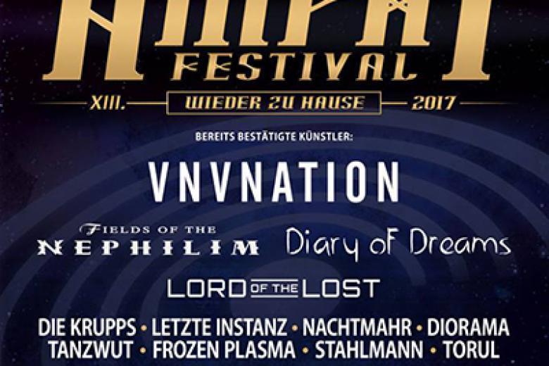 Amphi Festival 2017 : l'affiche s'étoffe