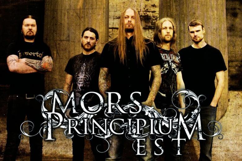 MORS PRINCIPIUM EST dévoile la pochette de son nouvel album