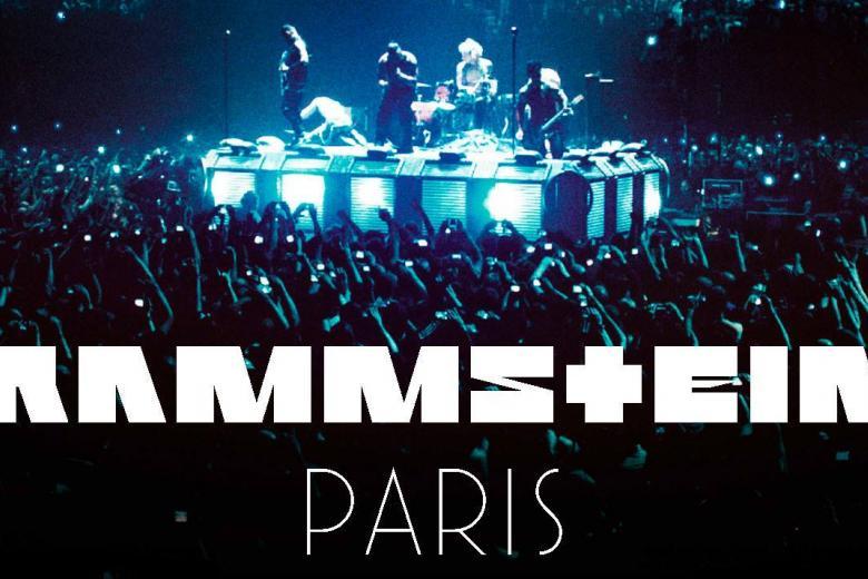 Live de RAMMSTEIN-Paris : sortie imminente