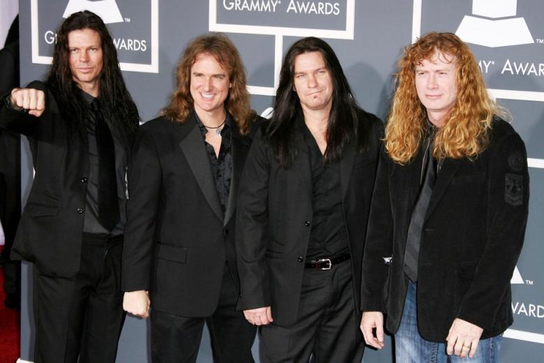 MEGADETH remporte le trophée dans la catégorie 'Best Metal Performance'