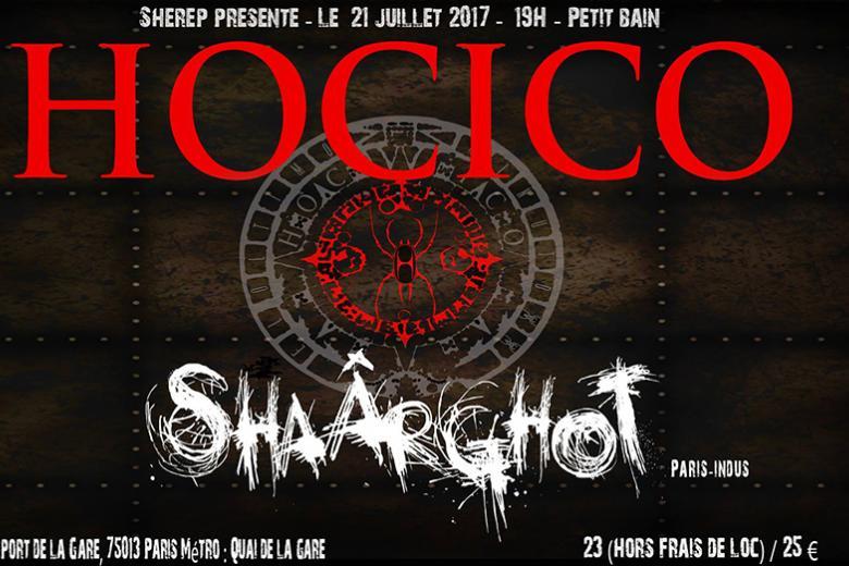 SHAÂRGHOT et HOCICO en concert à Paris