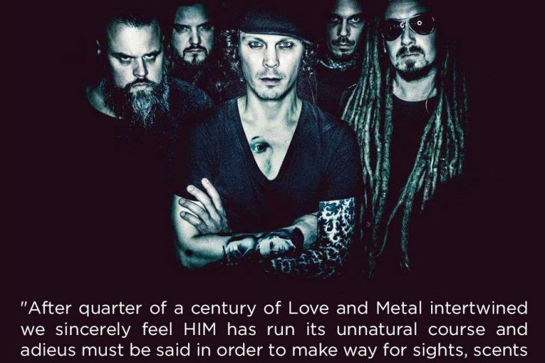 HIM, la fin du Love Metal