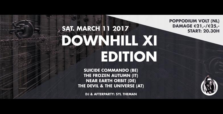 Downhill XI Edition - Poppodium Volt(11 mars 2017)