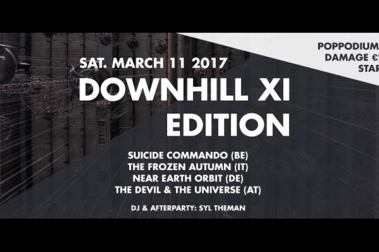 Downhill XI Edition - Poppodium Volt @ Sittard (11 mars 2017)