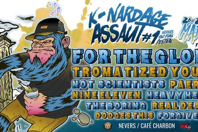 Le K-Nardage Assaut Festival débarque