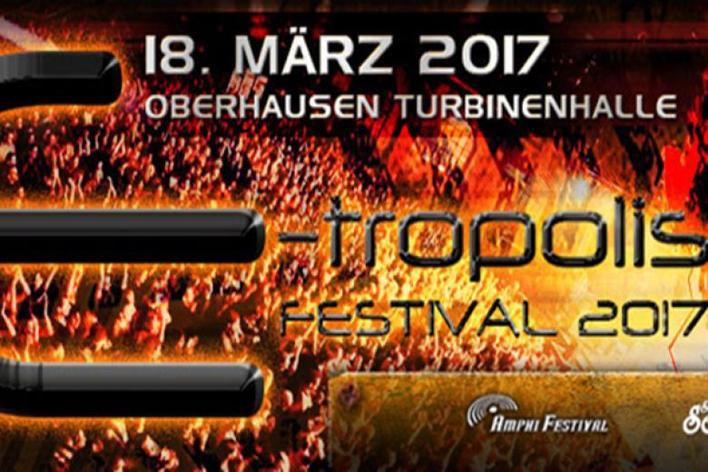 E-Tropolis Festival 2017 - Turbinenhalle @ Oberhausen (18 mars 2017)
