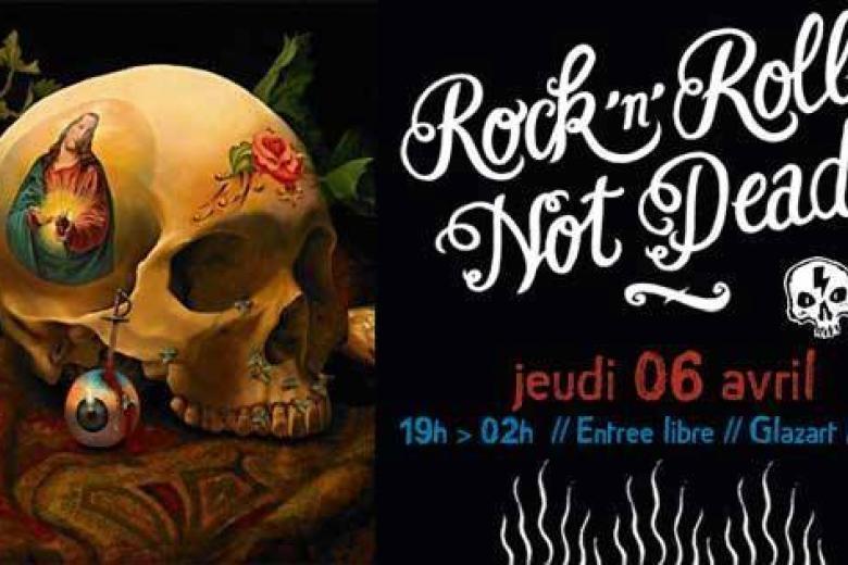 Soirée Rock'n'Roll's not dead au Glazart