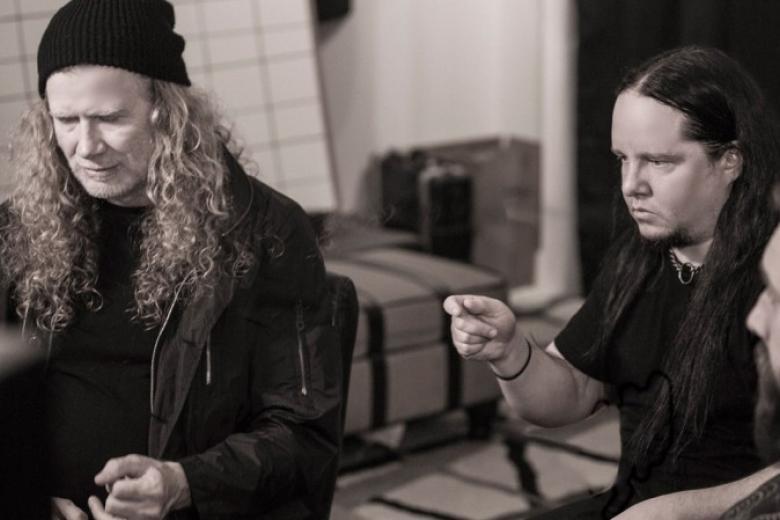 Une collaboration entre Joey Jordison et Dave Mustaine