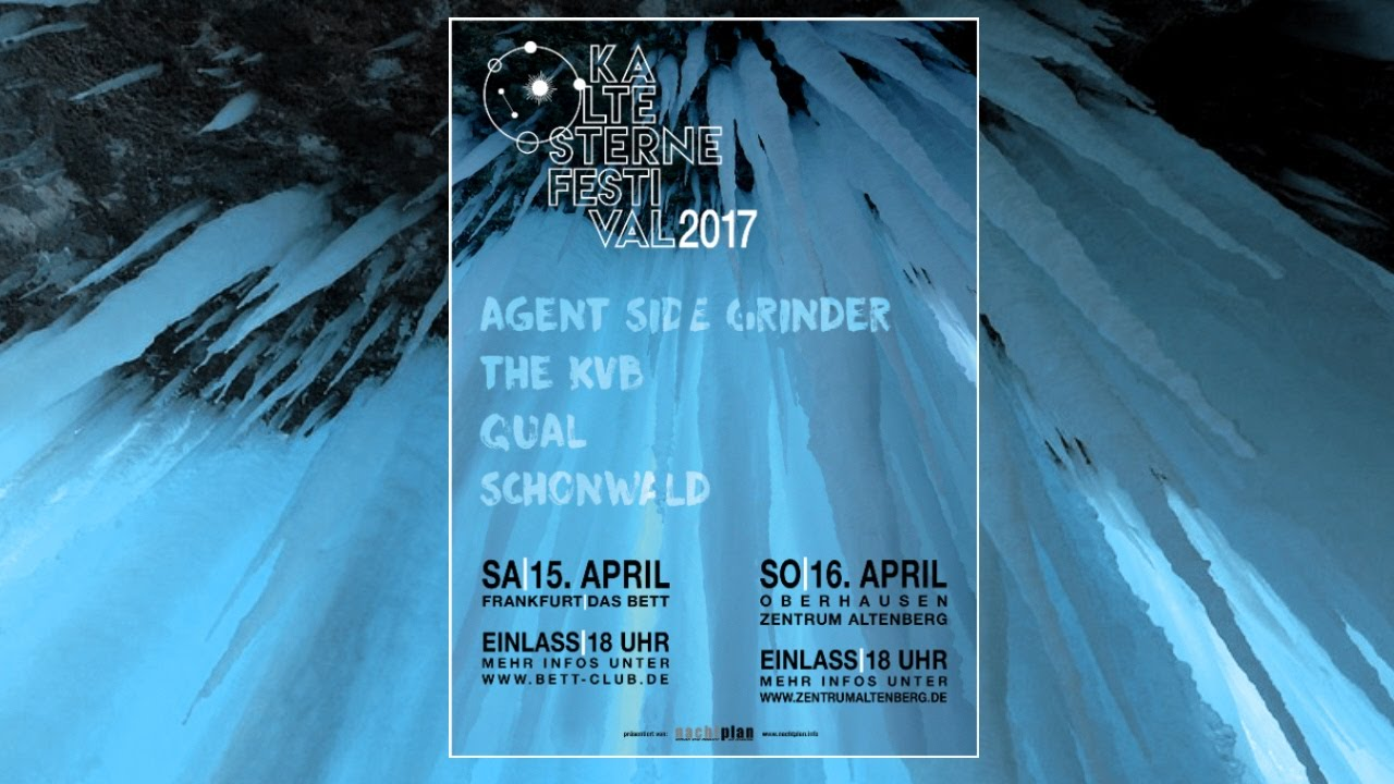 Kalte Sterne Festival 2017 - Kalte Sterne Festival 2017(16 avril 2017)