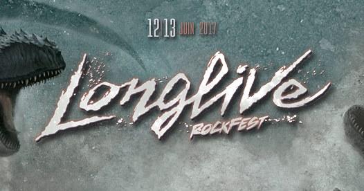 Longlive Rockfest - Jour 2(13 juin 2017)