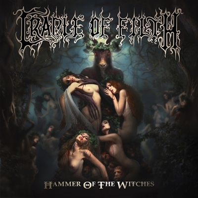 Review : Cradle Of Filth - Hammer Of The Witches(2017)